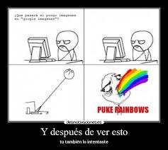 Puking Rainbow Meme - im磧genes y carteles de rainbows pag 21 desmotivaciones