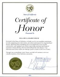 certificate of honor template free printable certificates of