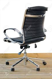 White Leather Office Chair Executive Office Chairs Leather Brown Leather And Wood Office