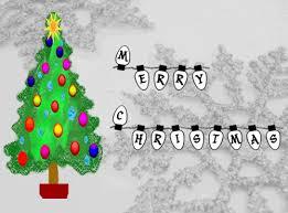 Animated Christmas Decorations Gif by Passy U0027s World Of Ict Animated Christmas Card