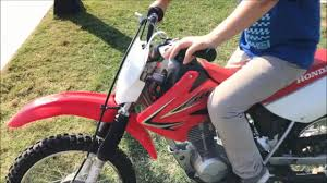 how to shift gears on a honda crf 80cc youtube