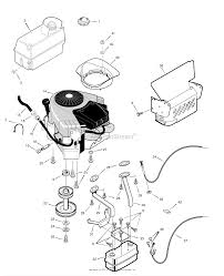 murray 465617x51a lawn tractor 2007 parts diagrams