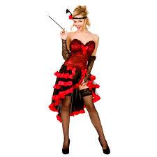 baroque halloween costumes ladies wild west showgirl costume saloon can can wild west baroque