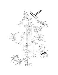 craftsman lawn tractor parts model 917273642 sears partsdirect