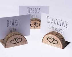 place card holders etsy