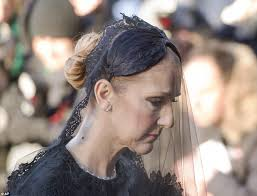 funeral veil dion leads second day of mourning at rené angélil s funeral