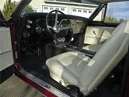 1967 Firebird Interior 1967 Pontiac Firebird Custom 2 Door Coupe 96885