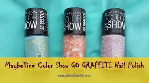 maybelline color show go graffiti nail polish u2013 flower power