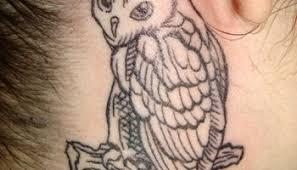 black outline thick as owl tattoo sketch u2013 truetattoos