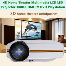 led home theater projector 1080p newest 1200 lumens android 4 4 hd 1080p led 3d av hdmi tv home