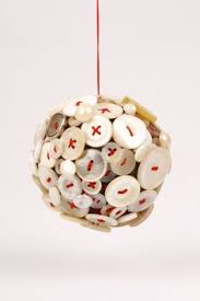 cyber monday christmas tree ornament handmade singular ball