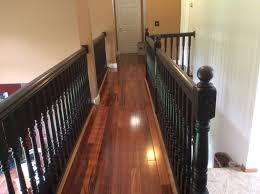 How To Restain Banister Stair And Railing Redo With General Finish Java Gel Stain Floor