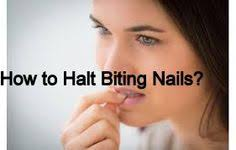 nail biting is an extremely hard habit to break but not an
