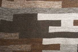 Modern Wool Rugs Sale Scandinavian Modern Flat Weave Wool Rug In Heathered Browns Grays