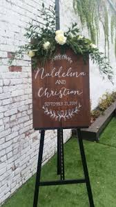 personalized wooden wedding signs 118 best wedding wood images on wedding decoration