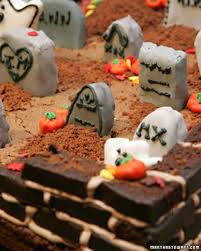 Mini Halloween Cakes by Halloween Cakes And Dessert Recipes Martha Stewart