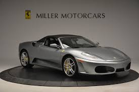 chrome ferrari f430 2009 ferrari f430 spider f1 stock 4243 for sale near westport