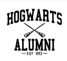 hogwarts alumni decal free hary potter hogwarts alumni vinyl decal sticker for car