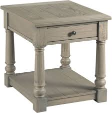 Hammary Sofa Table by Outland Taupe Gray Rectangular Storage Occasional Table Set From