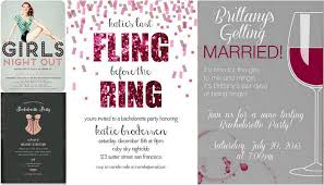 wedding party invitations bachelorette invite ideas trendy tuesday