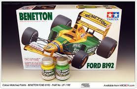 benetton ford b192 paint set 2x30ml zp 1190 zero paints