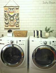 faux subway tile tutorial faux subway tile laundry room