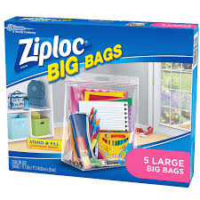 amazon com ziploc big bags large 5 count health personal care