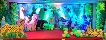 jungle themed birthday party jungle themed birthday party decoration ideas safari via n