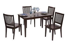 Shaker Dining Room Furniture Amazon Com Target Marketing Systems 5 Piece Shaker Dining Set