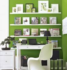 Small Home Office Decor Amazing Of Small Office Decor Ideas With Fresh Green Pain Office