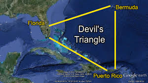 Puerto Rico Google Map by Devil S Triangle Map Ocean Warriors