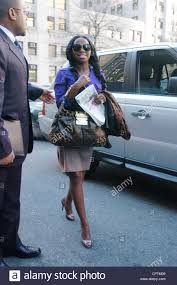 rapper foxy brown whose real name is inga marchand arrives to