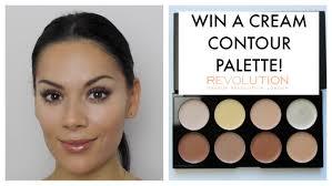 cream contour tutorial makeup revolution youtube