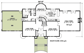 floor plan in french 4 bed french chateau house plan 9025pd architectural designs