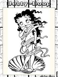 betty boop coloring pages coloring pages for adults pinterest