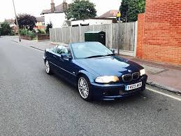bmw 325 ci m sport 2001 convertibl manual xenon liths in wood