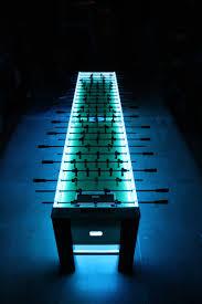 Glow In The Dark Table by Lighted 12 U0027 Ultimate Team Foosball Table Agr Las Vegas