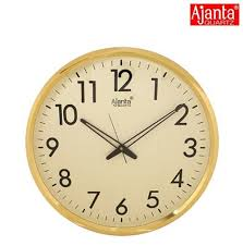 buy ajanta quartz wall clock 32 cm x 32 cm x 2 cm white dial and