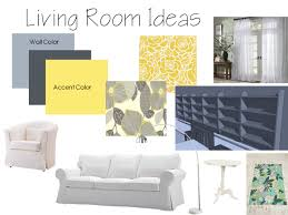 yellow gray and blue living room home design ideas