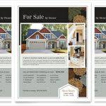 free real estate brochure template luxury home real estate flyer