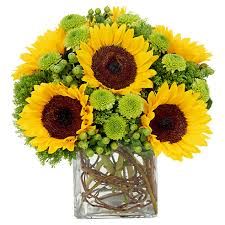 sunflower arrangements sunflower arrangement the branches in the vase or could use