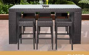 Hd Patio Furniture by Outdoor Patio Furniture Bar Sets Home Design