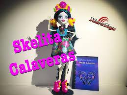 monster high skelita halloween costume monster high skelita calaveras collector doll amazon exclusive