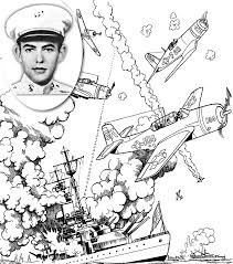 medal of honor coloring book page 28