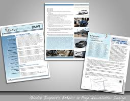 global imports bmw a few sle pages from global imports bmw s monthly newsletter