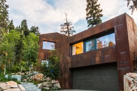 step inside a rugged eco friendly rocky mountains house curbed