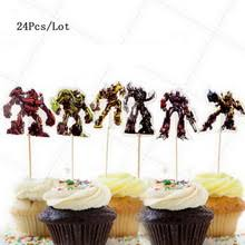 transformers bumblebee and optimus party cake topper buy optimus prime bumblebee and get free shipping on aliexpress