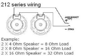 2 8 ohm speaker wiring diagram 4 ohm guitar speaker wiring diagram