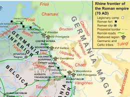 germania map to be a frank on the ethnic evolution of the early franks