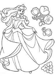 amazing beautiful princess aurora coloring